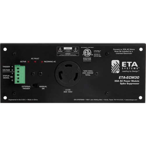 Atlas Sound 30A AC Power Module Spike Suppressor