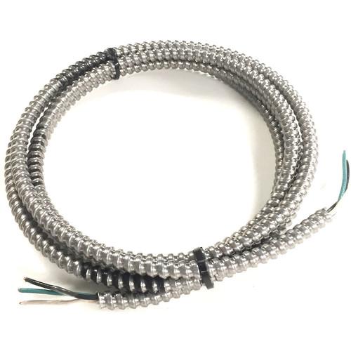 "Atlas Sound Black/Green/White 3-Wire Conduit f/ECM-Racewy Models (12"")"