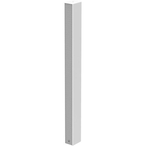 "Atlas Sound Medium Length Passive Install Line Array Speaker Column with 20-3""Drivers - 500WRMS Capacity (White)"