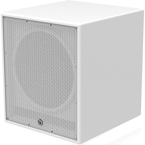 """Atlas Sound 15"""" Active Subwoofer with Internal 500-Watt RMS Amplifier and DSP for Installation (White)"""