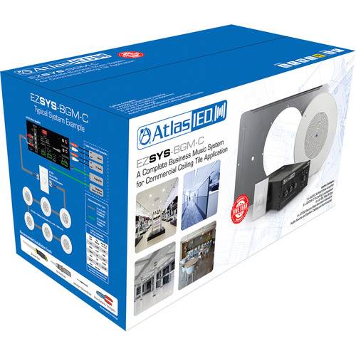 Atlas Sound Easy System BGM Kit : SD72W, AA35G, AT35D, and 81-8R