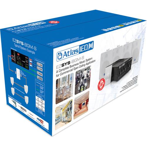 Atlas Sound Easy System BGM Kit : SM42, AA35G, AT35D