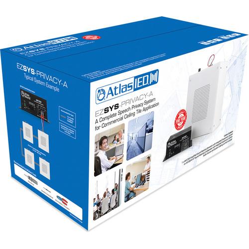 Atlas Sound Easy System Sound Masking Kit : AM1200, M1000-W