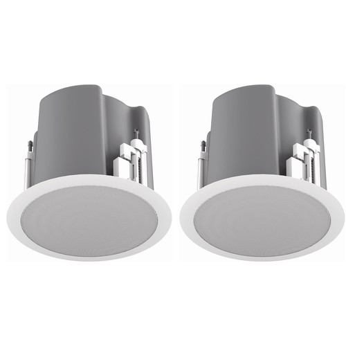 "Atlas Sound FAP63T-W Strategy III Series 6.5"" 70.7/100V-32W Ceiling Loudspeaker (White)"