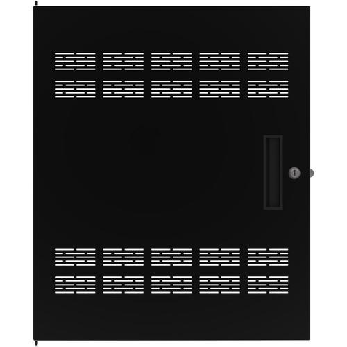 Atlas Sound Flush Rear Door 14 Rack Unit for 700 Series Equipment Racks
