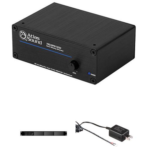 Atlas Sound TSD-GPN1200 Sound Masking Generator Kit with Power Supply and Rack Kit