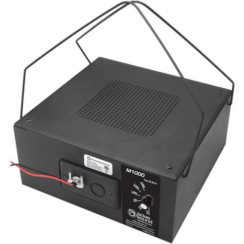 "Atlas Sound M1000 8"" Dual-Cone Sound Masking Speaker (Black)"