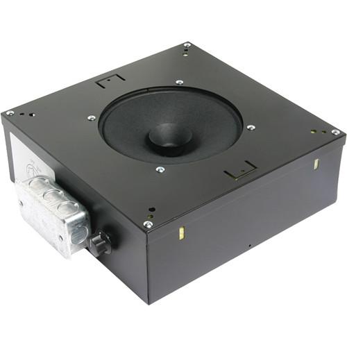 "Atlas Sound Channel Mounting 8"" Sound Masking Speaker with 5W/70V Transformer"