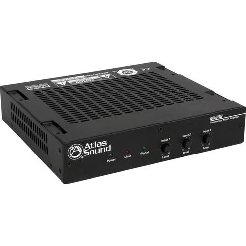 Atlas Sound MA60G 60W 3-Channel Mixer Amplifier