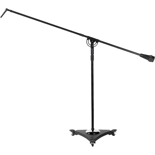 "Atlas Sound Studio Boom Microphone Stand with Air Suspension and Casters (Up to 73"", Ebony)"