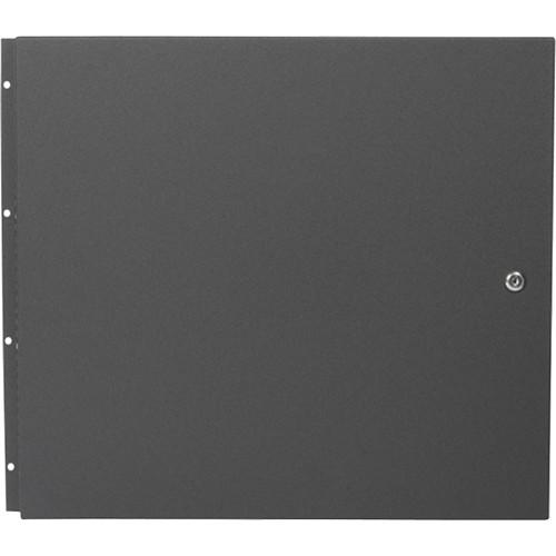Atlas Sound Steel Front Door For Desk Top Cabinets - 10-Rack Unit