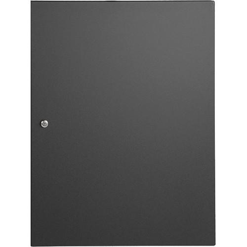 Atlas Sound Steel Front Door For Desk Top Cabinets - 14-Rack Unit