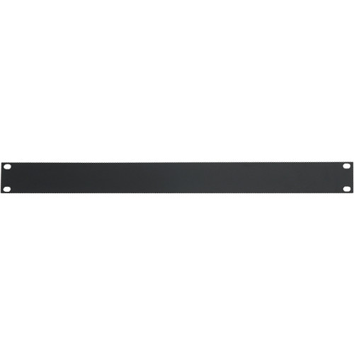 "Atlas Sound 19"" Blank 1 Rack Unit Recessed Rack Panel"