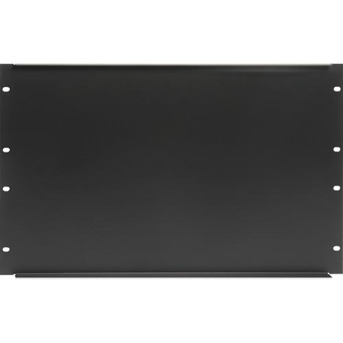 "Atlas Sound 19"" Blank 6 Rack Unit Recessed Rack Panel"
