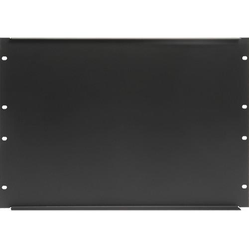 "Atlas Sound 19"" Blank 8 Rack Unit Recessed Rack Panel"