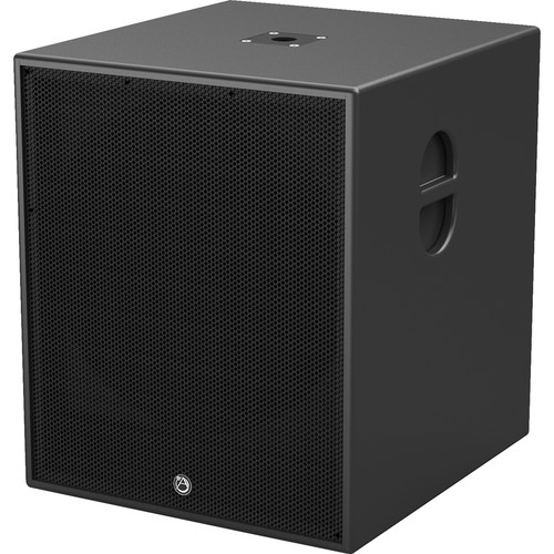 """Atlas Sound 18""""1000W Powered Portable Subwoofer, with Passive Out (Black)"""
