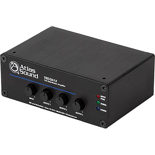 Atlas Sound TSD-DA13 1x3 Distribution Amplifier