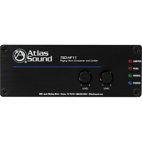 Atlas Sound TSD-HF11 Paging Horn Crossover and Limiter