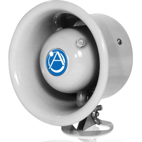 Atlas Sound Weather Resistant 7.5W Horn Loudspeaker with 70.7V Transformer