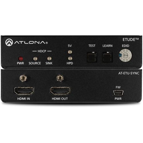 Atlona Etude Sync EDID Emulator for 4K HDR HDMI Signal