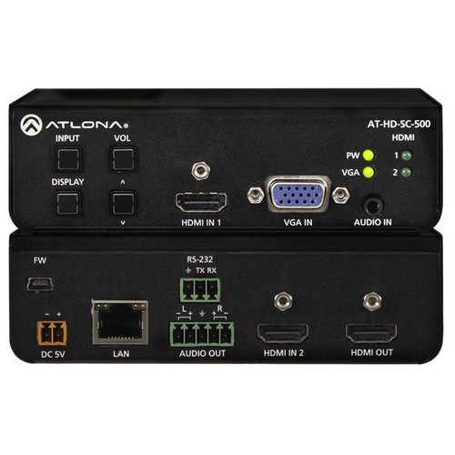 Atlona AT-HD-SC-500 3-Input Switcher and Scaler