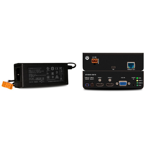 Atlona Three-Input HDMI/VGA to HDBaseT Switcher (AC Powered)