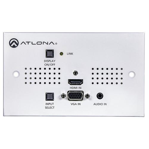Atlona Two-Input HDMI / VGA to HDBaseT UK Wall Plate Switcher