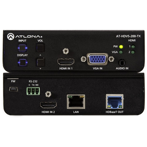 Atlona AT-HDVS-200-TX Three-Input HDMI/VGA to HDBaseT Switcher (PoE)