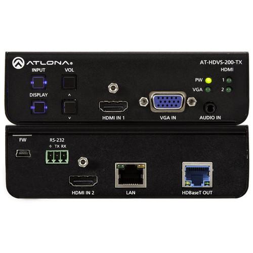 Atlona AT-HDVS-200-TX 3x1 HDMI/VGA to HDBaseT Switcher