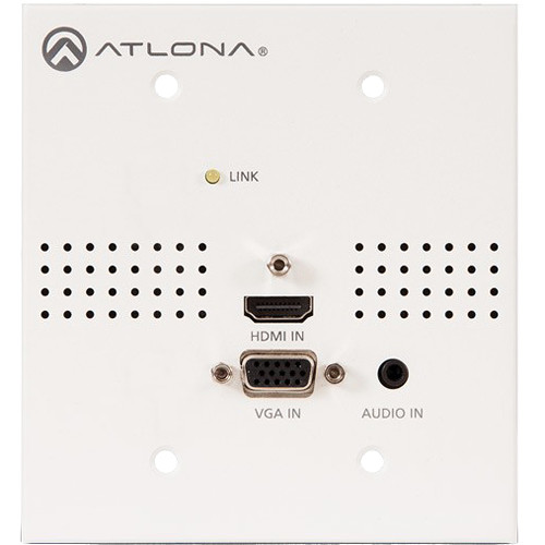 Atlona Blank Face Plate for HDVS-Series Wall Plate Switcher