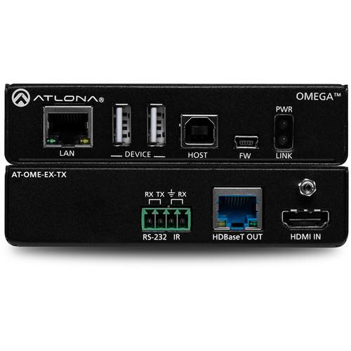 Atlona Omega 4K/UHD HDMI/USB over HDBaseT Transmitter (330')