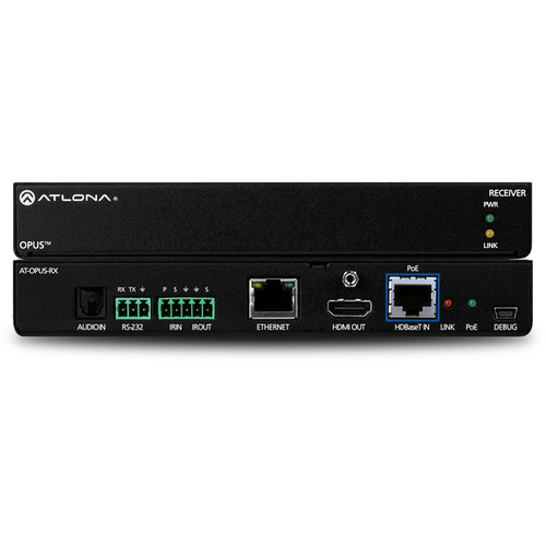 Atlona OPUS-RX 4K HDR HDBaseT Receiver for Opus Matrix Switchers