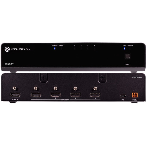 Atlona Rondo 444 4K/HDR 1x4 HDMI Distribution Amplifier
