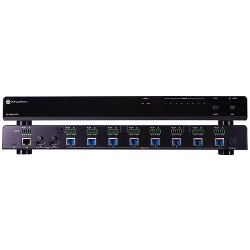Atlona 4K/UHD HDMI to 8-Output HDBaseT Distribution Amplifier