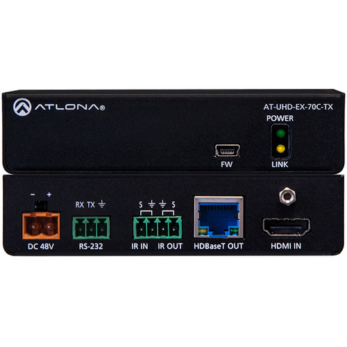 Atlona 4K/UHD HDMI Over HDBaseT Transmitter with Control and PoE