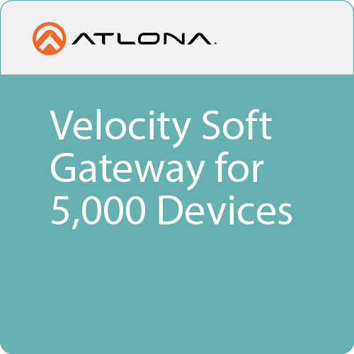 Atlona Velocity Soft Gateway for 5000 Devices