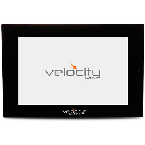 """Atlona 8"""" Touch Panel for Velocity Control System (Black)"""