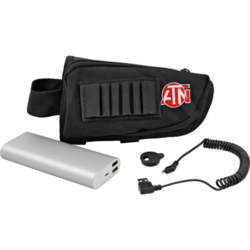 ATN Power Weapon Kit (16000mAh, Neck Strap Holder)