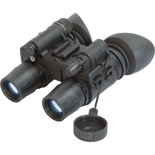 ATN PS15-3W 3rd-Generation Night Vision Binocular with Headgear (White Phosphor, Matte Black)