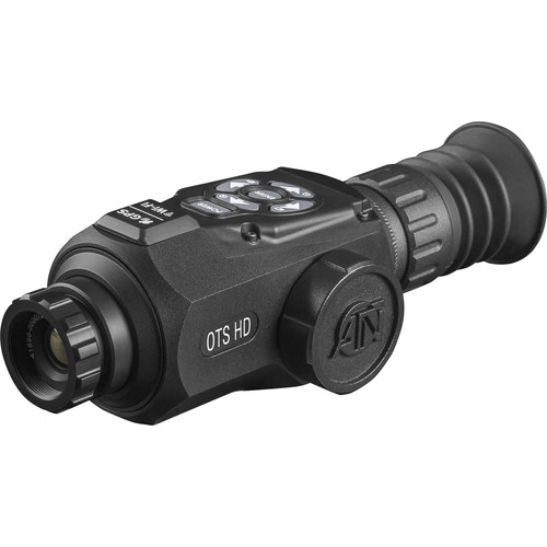 ATN OTS-HD 640 1-10x Thermal Digital Monocular (9 Hz, Matte Black)