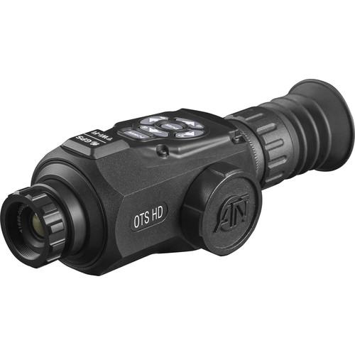 ATN OTS-HD 640 1.5-15x Thermal Digital Monocular (9 Hz, Matte Black)