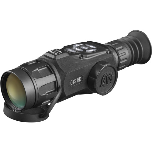 ATN OTS-HD 640 2.5-25x Thermal Digital Monocular (9 Hz, Matte Black)