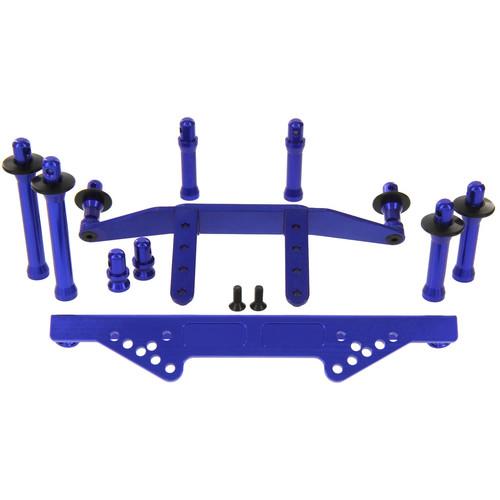 Atomik RC Body Mount Set (Blue)