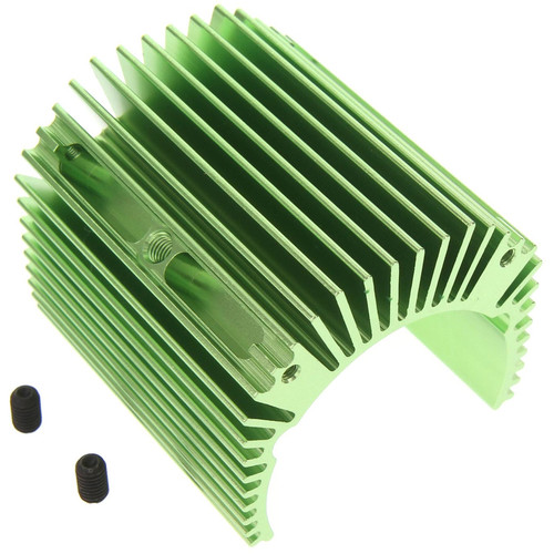 Atomik RC Alloy Heat Sink for Traxxas X-Maxx (Green)