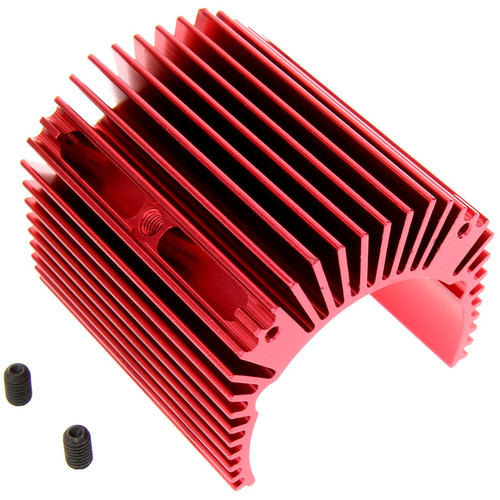 Atomik RC Alloy Heat Sink for Traxxas X-Maxx (Red)
