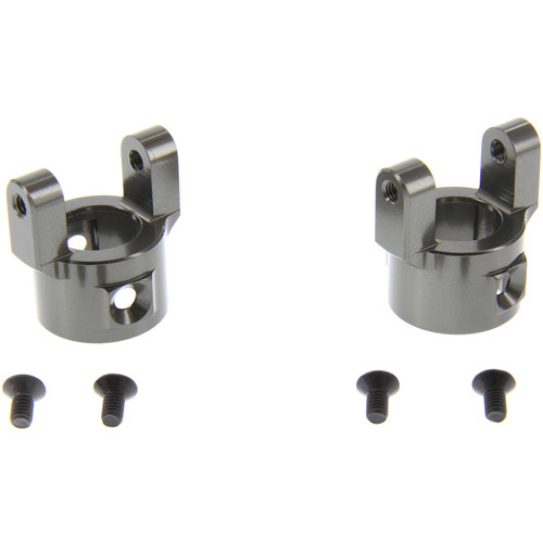 Atomik RC Alloy C Hub for 1:10 Axial SCX10 (Gray)