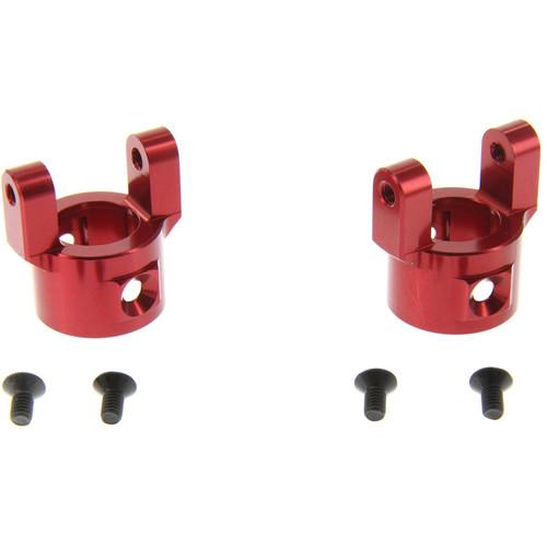 Atomik RC Aluminum Alloy C-Hub Hop-Up for Axial SCX10 (Red)