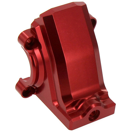 Atomik RC Traxxas X-Maxx Alloy Front/Rear Differential Cover (Red)