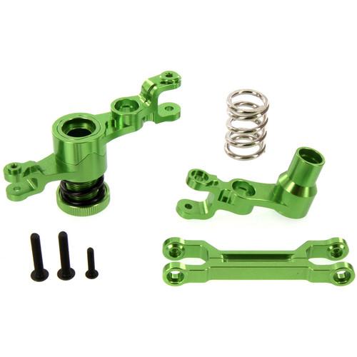Atomik RC Traxxas X-Maxx Alloy Steering Bellcrank Assembly (Green)