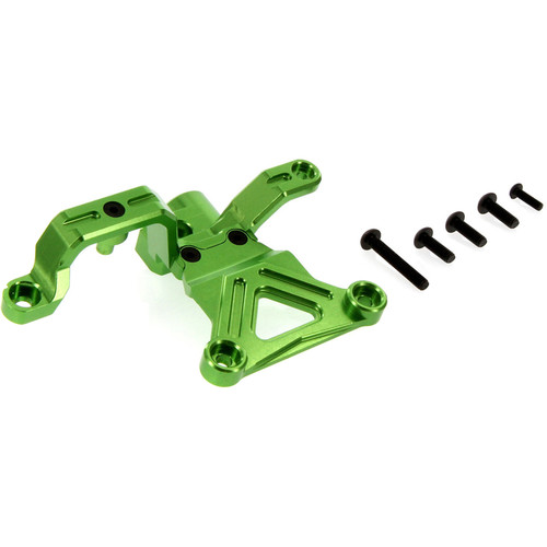 Atomik RC Traxxas X-Maxx Alloy Steering Bellcrank Support (Green)